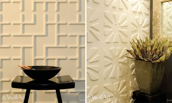 Green and Eco friendly Wall Panels dimensional wall cover