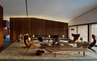 stone steel wood interior decor 338x212