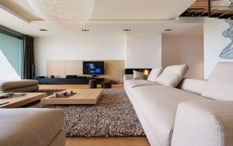 elegant interior duplex apartment sofa 338x212