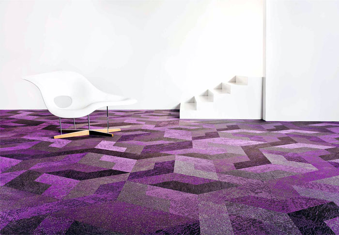 Wing Flooring Tile By Bolon Interiorzine