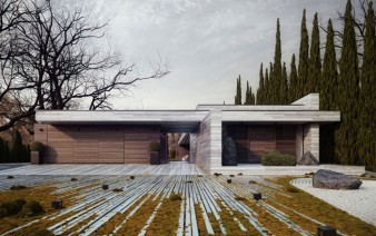 l shaped house garden1 338x212