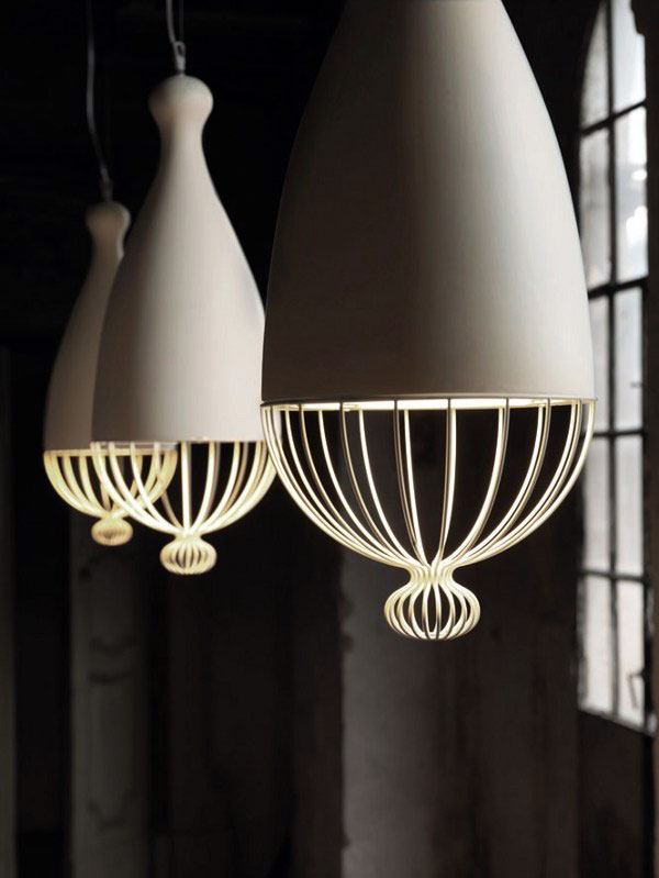 suspended lamps rounded shapes2