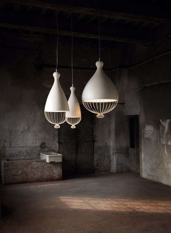 suspended lamps rounded shapes3