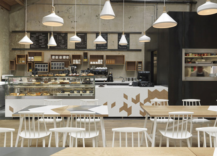 A Contemporary Interpretation Of A Traditional Cafe At