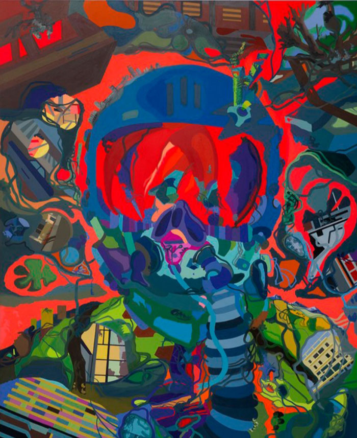 Large Scale Dynamic Paintings By Franz Ackermann