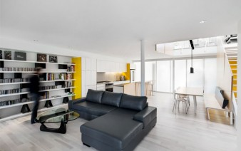 yellow black simple pallet living room 338x212