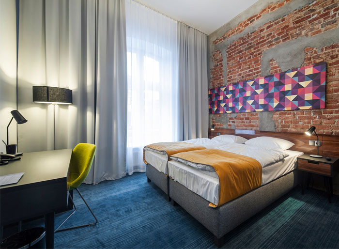 Modern Hotel With Industrial Background Interiorzine