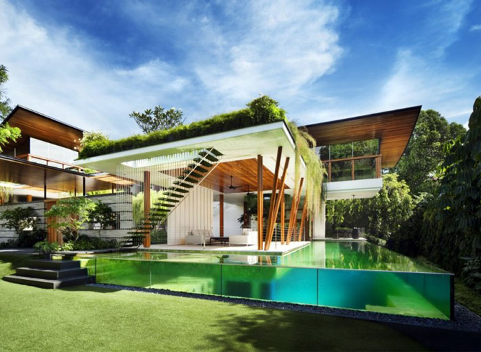 house beautiful garden pool 2