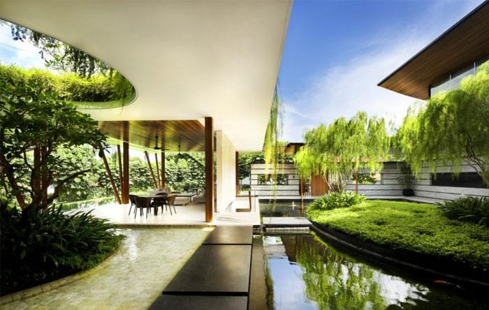 house beautiful garden pool 4