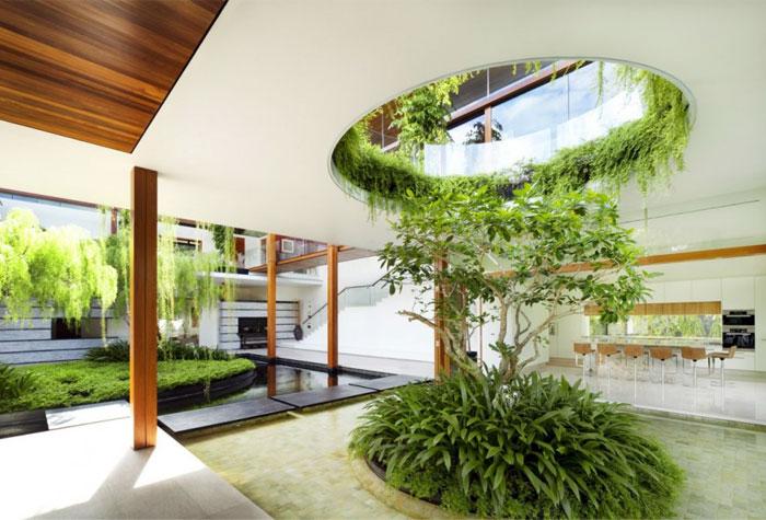 house beautiful garden pool 5