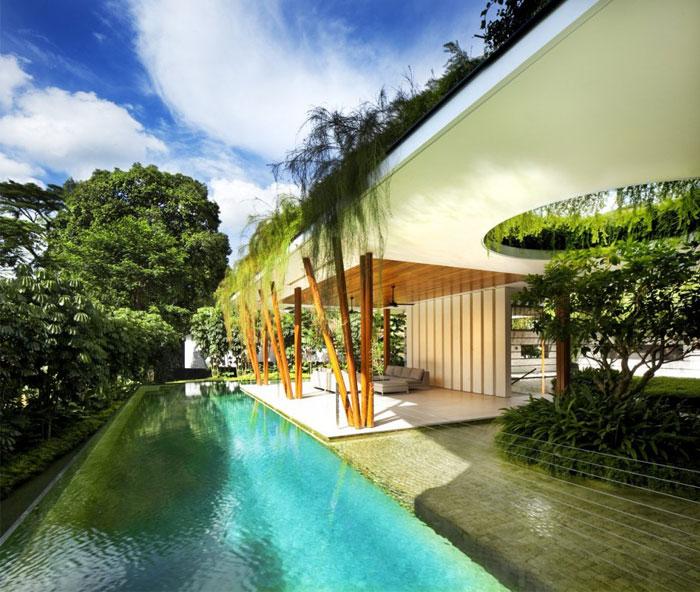 house beautiful garden pool 6