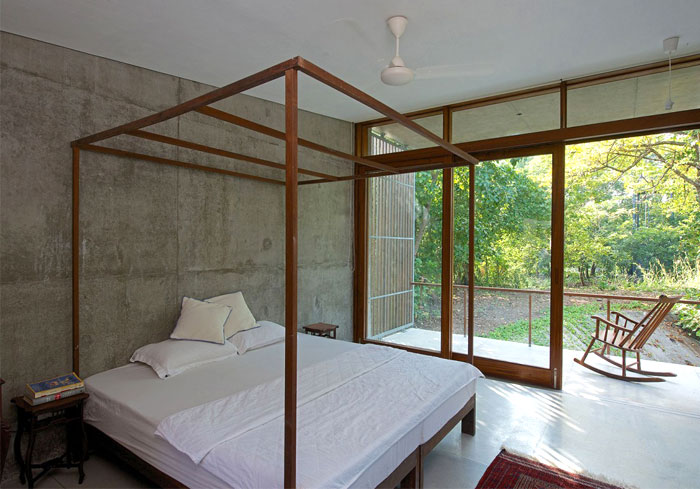 bedroom-interior-concrete-wall-floors