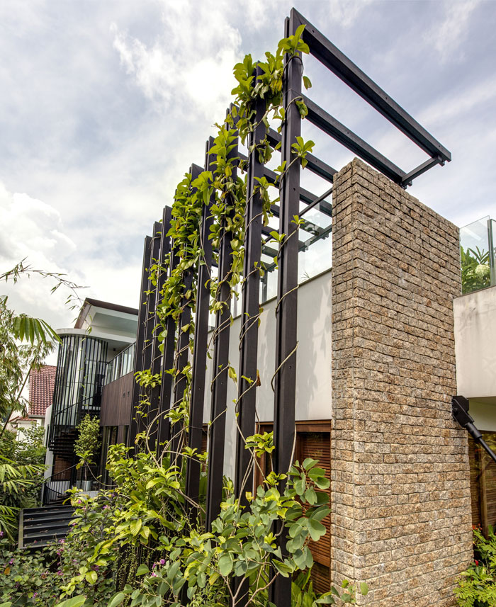vertical-garden-villa-exposed-stone-walls