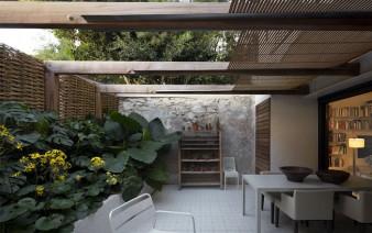 contemporary home exterior 338x212