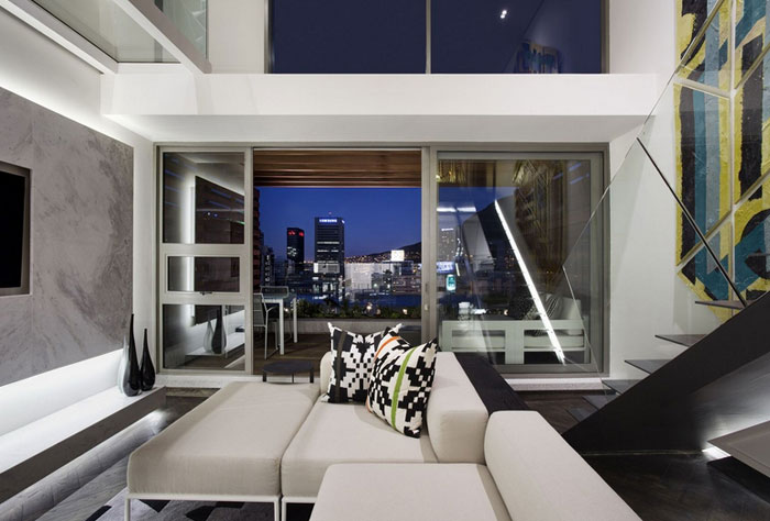 modern african graphic colour monochromatic interior