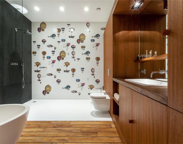 artistic vision bathroom tile