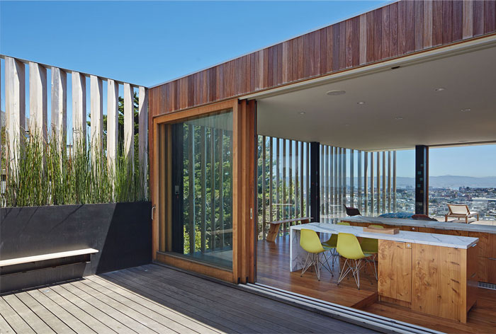 extensive use wood