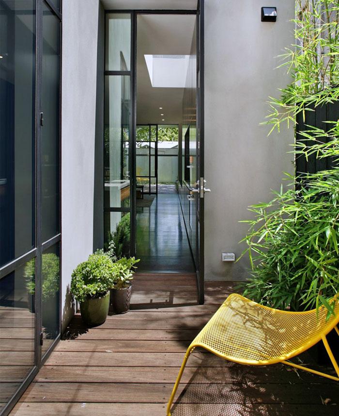 green outdoor area