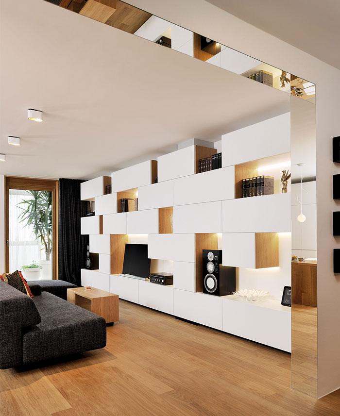 living-room-white -charcoal-caramel-wood