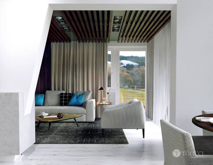 modern cosily furnished home