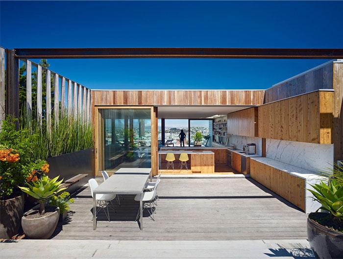 open garden roof