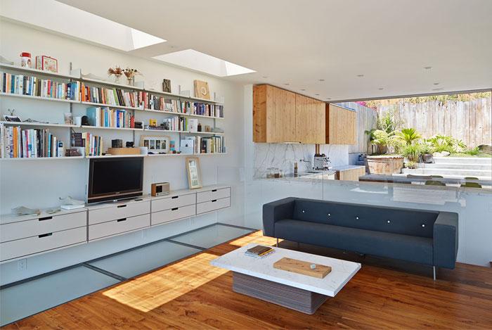 simple modern elegante living room