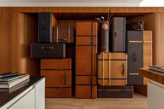 suitcases furniture
