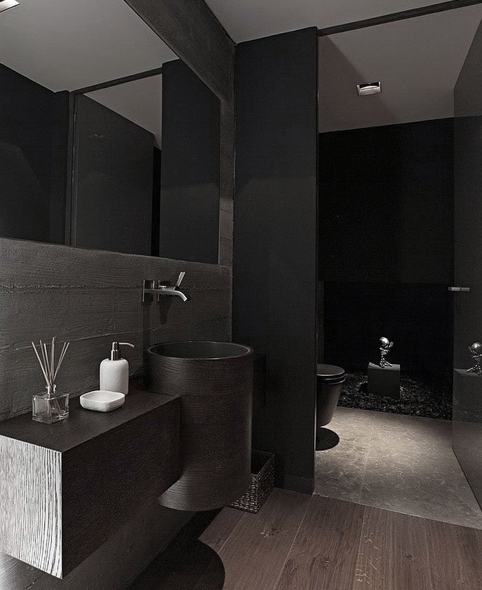 bathroom-dark-marble-surfaces