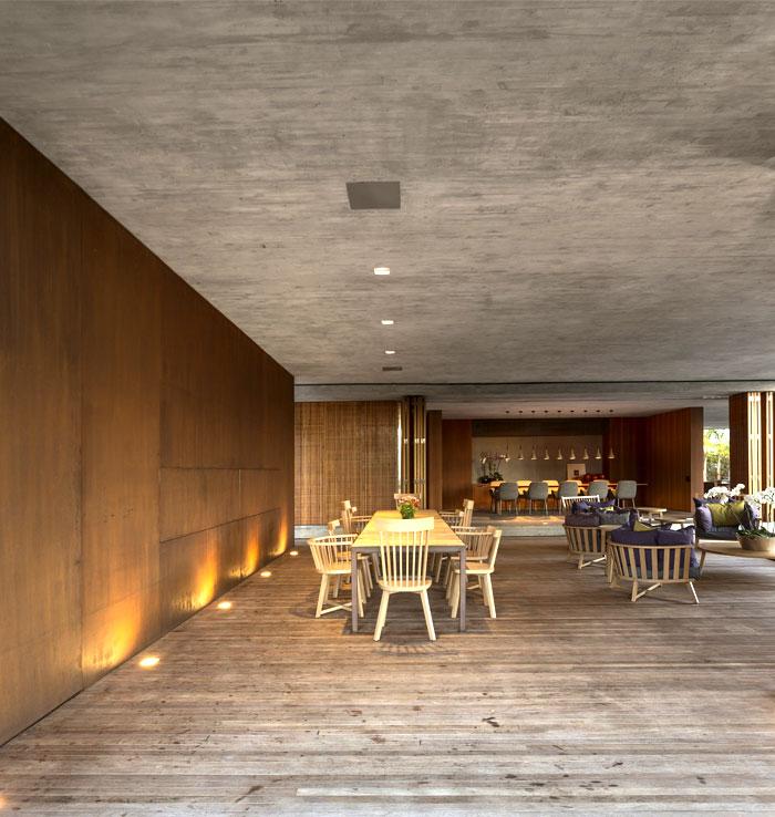 concrete-walls-dining-area-furnishing-decorating