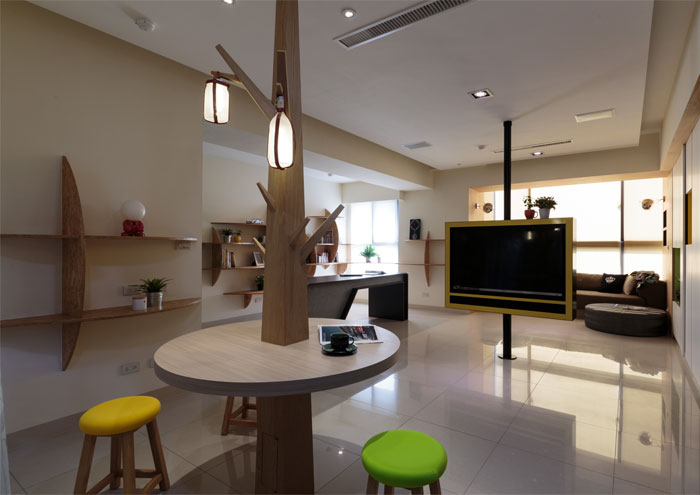family-apartment-taiwan-dining-area