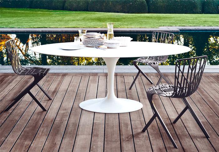 knoll-saarinen-table