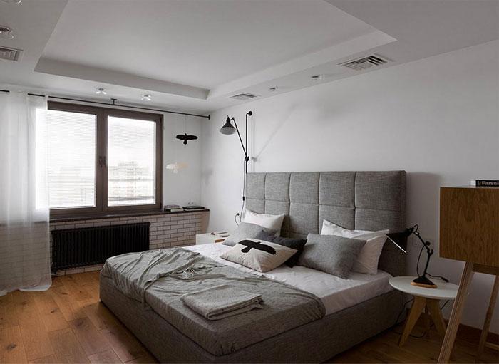 white-color-walls-bedroom-grey-textile