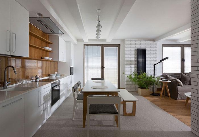 white-granite-floors-kitchen