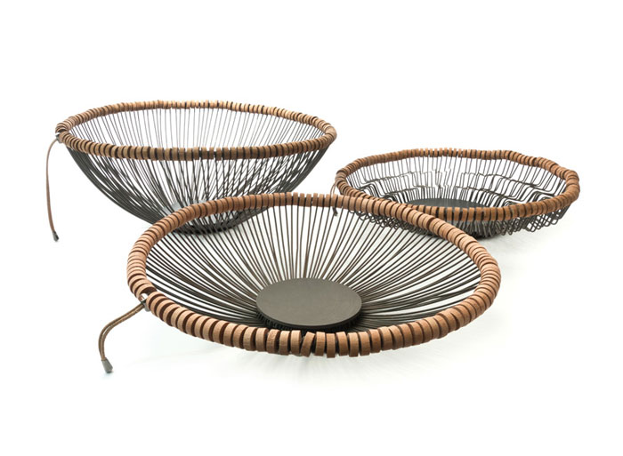 beautiful sculptural baskets
