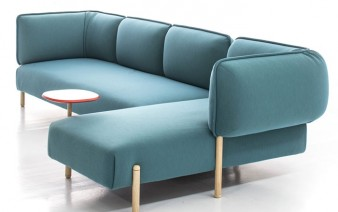 bright color rounded shape sofa 338x212