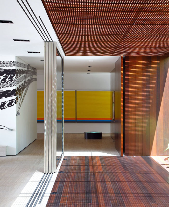 house walls exhibit surfaces contemporary art