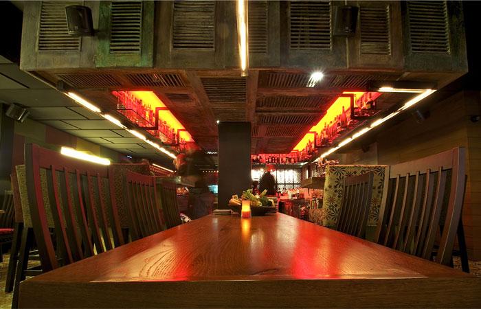 restaurant interior decor