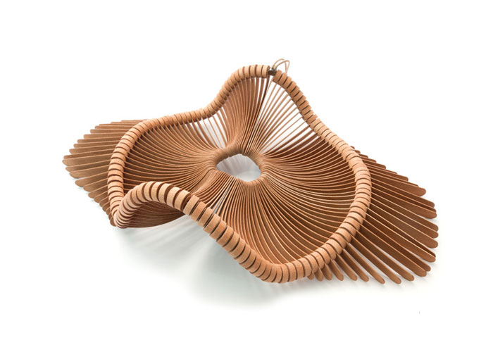 sculptural basket