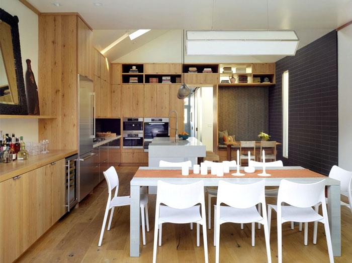 tiled wood furnishing