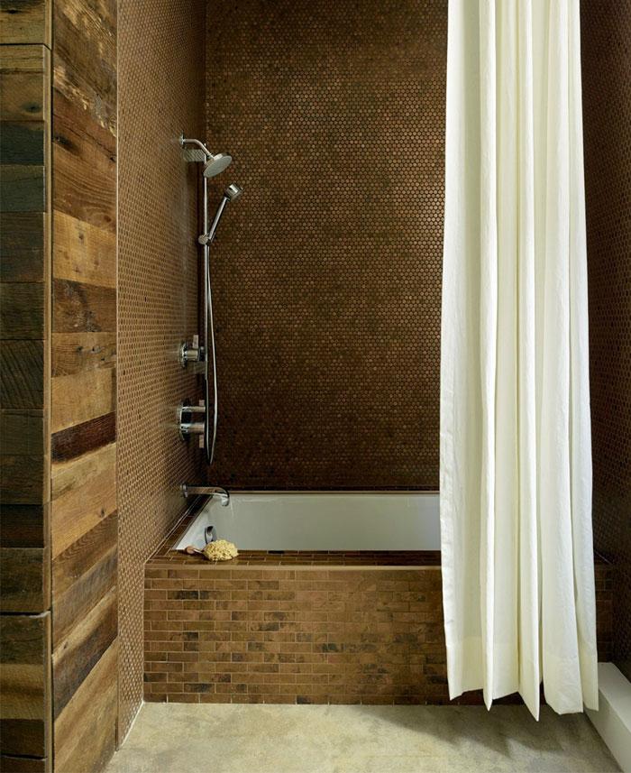 trendy artistic san francisco bathroom decor