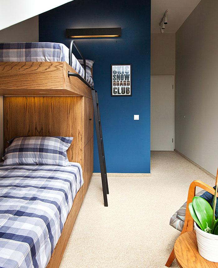 bedroom small loft aparment