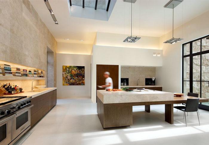 bel air hill house kitchen