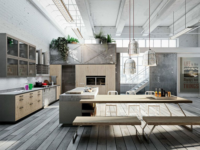 nordic style kitchen