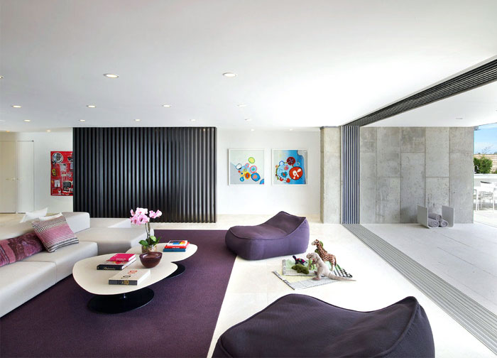 sea house strong individuality artistic living area