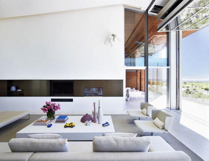 sea house strong individuality living room decor