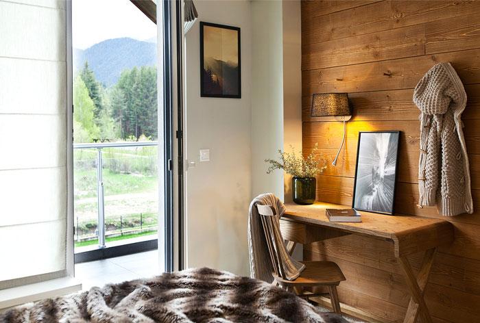 small resort village loft apartment