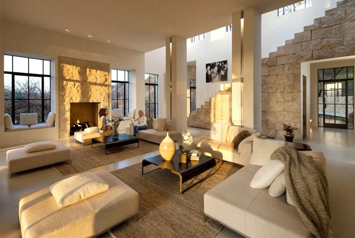 unpretentious elegance living room decor