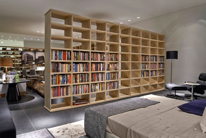 contemporary furniture bookcase lider