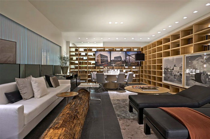lider interiores contemporary showroom