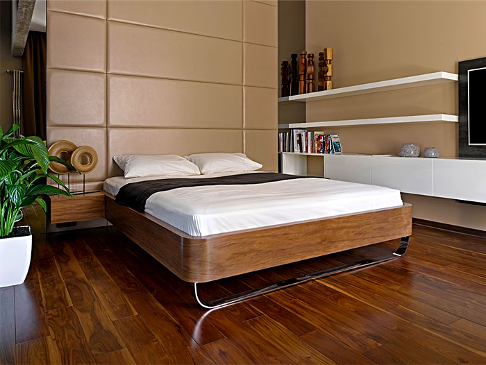 chic moscow studio bedroom 1